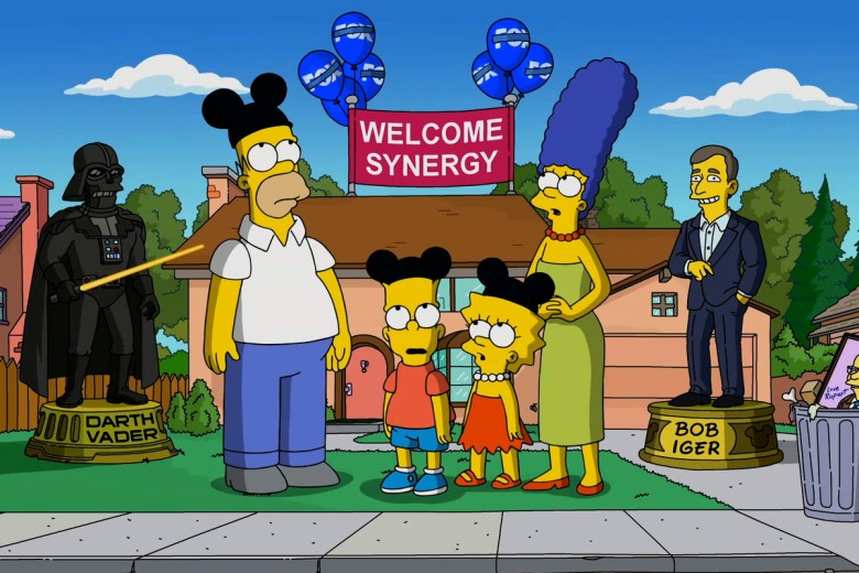 Welcome to Disney+ Simpsons